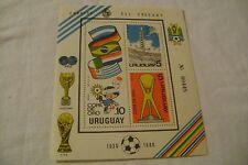 URUGUAY-SCOTT#1094a-SOCCER GOLD CUP CHAMPIONSHIP-LOT of 1-SOUVENIR SHEET-MLH