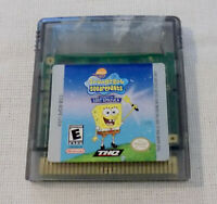 Spongebob Legend of the Lost Spatula Nintendo Gameboy Game Tested and Working