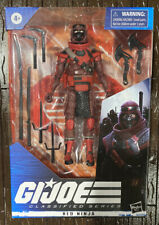 G.I. Joe Classified Series RED NINJA 6? Figure Wave 2 Hasbro Brand New *In Hand*