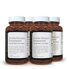 Serrapeptasa Doble Potencia 120,000 SPUs x 360 comprimidos. - OFERTA ESPECIAL