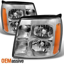 Fit 03-06 Cadillac Escalade Headlights Replacement HID Xenon Type 2003-2006