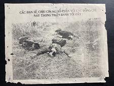 Original Vietnam War Aerial Leaflet Communist This Can Be Your Luck