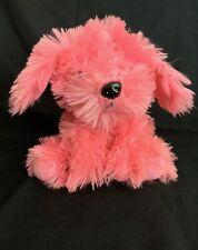 "Dan Dee Collectors Choice 8"" Plush Pink Terrier Dog Super Soft Dandee"