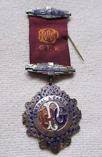"Freemason Bijou England Logenabzeichen with "" Central & East Fife "" Silver 1954"