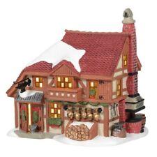 Department 56 Alpine Village Cowbell Forge Building Figurine 6005374 New
