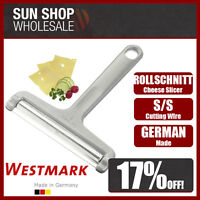 Made in Germany! WESTMARK Rollschnitt Rolling Cheese Slicer Rustproof S/S Wire!