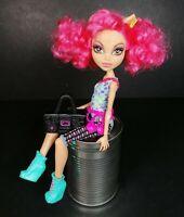 Monster High Doll Howleen Wolf Hip Hop Dance Class Posable Fashion Pink Hair Fun