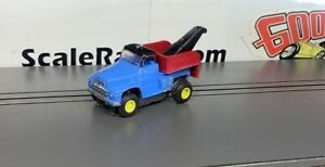 Blue Tow Truck #1364 Custom Built Body(ONLY) for Aurora Tjet Chassis