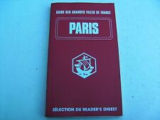 le guide des grandes villes de rance-paris-sélection du reader's digest