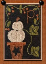 P IS FOR PUMPKIN PUNCH NEEDLE TRANSFER PATTERN-BY LITTLE HOUSE NEEDLEWORKS