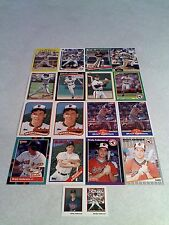 *****Brady Anderson*****  Lot of 50 cards.....42 DIFFERENT / Baseball