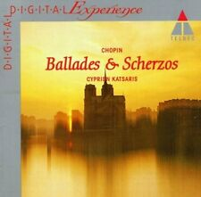 Chopin Balladen Nr. 1-4/Scherzos Nr. 1-4 (Teldec, 1984/91) [CD]