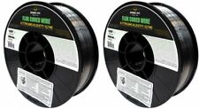 USA (2 Rolls) E71T-1C/1M .035 in. Dia 10lb. Flux Cored Welding wire GAS REQUIRED