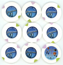 New ListingNine $1 Stratosphere Las Vegas Casino Chips Las Vegas Nv Obsolete Casino Chips
