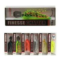 Spinner Bait Fishing Lure 10 14G For Bass Pike Trout Spinning 6 Casting Col R0G0