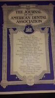 I Giornale Of I American Dental Associazione VOL.20 1933 June Ritratto ABE