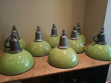 emaille lampe grün | eBay