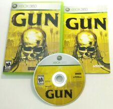 Gun (Microsoft Xbox 360, 2005) COMPLETE Tested & Cleaned!