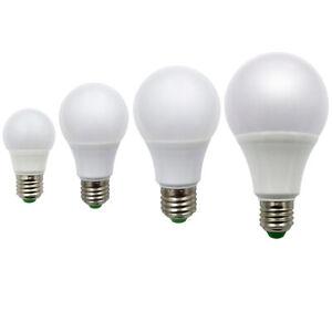 E27 LED Light Bulb 3W 5W 7W 9W 12W 15W Globe Lamp AC12V/DC12-24V Energy Saving T