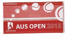 NEW Australian Open 2015 Sheridan Limited Edition Red Cotton Gym Towel 59x90cm