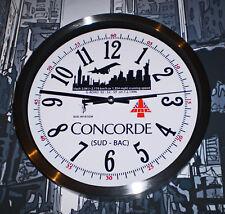Concorde New York To London Record Flight Time Wall Clock, Retro Dial.