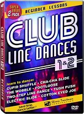 Club Line Dances 1 & 2: Beginner Lessons - Learn to dance the Wobble Electric...