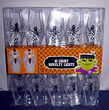 10 CT LIGHT SET OF CASKETS WITH SPIDERS INSIDE  NEW
