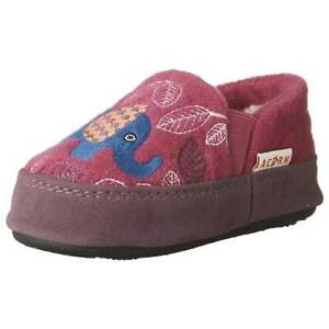 Acorn Kid's Moccasins Colby Gore, Magenta Elephant, K8/9 (A10036MTE-8-9)