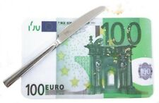 Frühstücksbrettchen 100 € Schein Brettchen Bank Geld Karriere Börse Aktien Euro