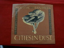 SIOUXSIE & THE BANSHEES~ CITIES IN DIST~ RECORD & SLEEVE NEAR MINT~ ~ ROCK  45