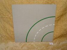 Lego Piezas: placa base 609p01, 32 X 32 9-Stud curva con patrón de carretera Town Square