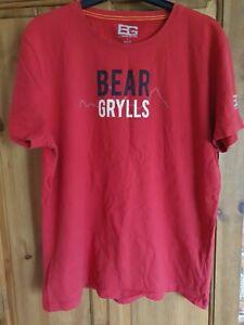Bear Grylls craghopper largeT-shirt Red Worn once