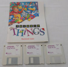 Thinking Things Learning Games Macintosh Floppy Discs Vintage Computer