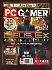 PC Gamer Deus Ex Fallout 3 Hardware Buyer's Guide Holiday 2015 FREE SHIPPING!
