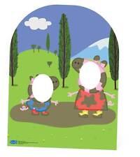 PEPPA PIG MUDDY PUDDLE Bambino Taglia Stand-in cartone Ritaglio/stand up-George