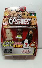 Wwe Ooshies 4 Pack figures Pencil toppers - box 3 with glow in the dark
