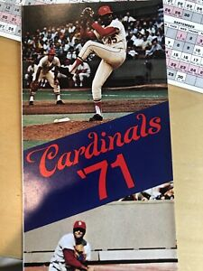 st louis cardinals 1971 Collectors Items