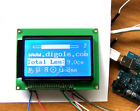 Serial/Parallel 12864 128x64 Dots Graphic LCD for Arduino/AVR/PIC White/Blue