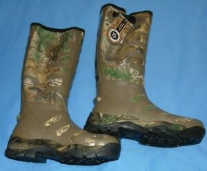 """NEW BANDED 17"""" BREATHABLE  KNEE HUNTING BOOT UNINSULATED REALTREE SZ 9"""