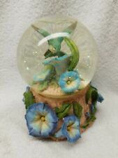 Music Box San Francisco Company - Snow Globe Rainbow Glitter & Nice Hummingbird