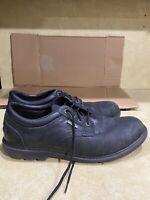 Black Lace Up Rockport Walkability Shoes Mens 10 M