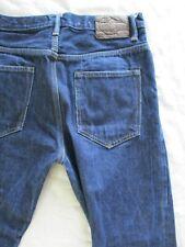 Allsaints Spitalfields Tapered selvedge selvage denim Japanese jeans 30 27