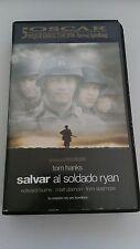 SALVAR AL SOLDADO RYAN VHS COLECCIONISTA EDICION ESPAÑOLA