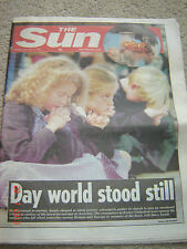 The Sun newspaper Original 15th September 2001 (twin towers pictures)