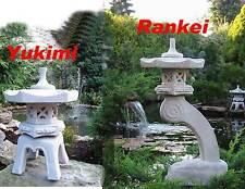 2 Stück... Rankei + Yukimi japanische Steinlaterne☺