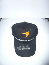 Signed Raikkonen West  Mclaren Cap