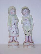 German Bisque Figural Statue Figures Antique