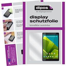 2x Vodafone Tab Prime 6 Schutzfolie klar Displayschutzfolie Folie dipos