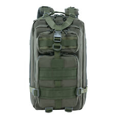 28L Military Tactical Backpack Molle Rucksacks Camping Hiking Trekking Camo Bag