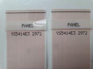 2972  2x RIBBON CABLES  FOR  T-CON BOARD